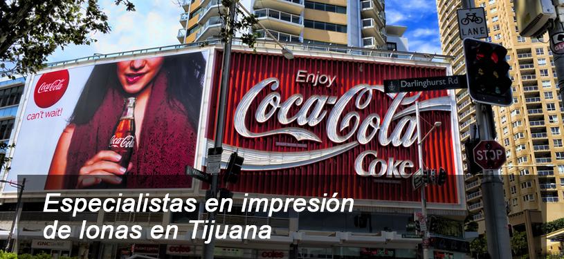 Especialistas en impresión de lonas en Tijuana